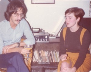Jim Iffland and Theresa, Boston, c. 1976