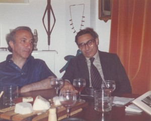 With Eugénio Lisboa, London, 1979
