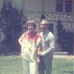 With Svatava Jakobson, Austin, c. 1975