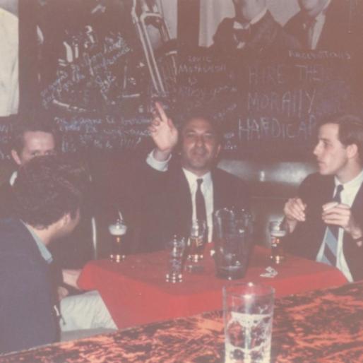 With Daniel Cervenka and friends, Austin, Texas, 1967