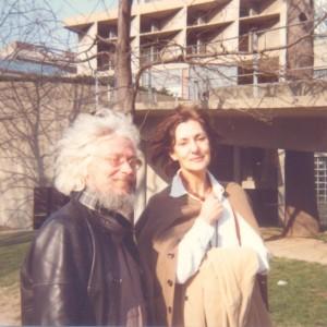 Júlio Pomar and Teresa, London, 1980