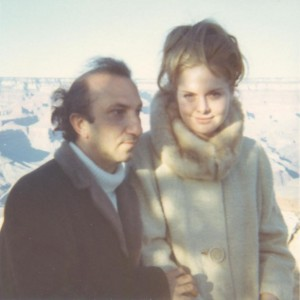 With Elizabeth Sanchez, Grand Canyon, c. 1970