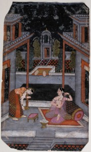 Oriental illumination, Moghul period