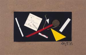 Marie Jo Paz (Algiers/Mexico) Untitled, 1973