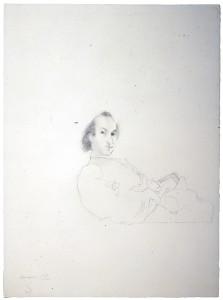 Júlio Pomar (Portugal, 1926-2018) Portrait of Alberto de Lacerda, 1970