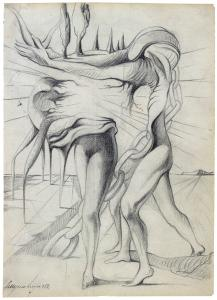 Cruzeiro Seixas (Portugal, 1920) Drawing, 1952