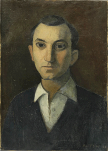 Rui Filipe (Portugal, 1928-1997) Portrait of Alberto de Lacerda, 1962