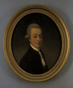 Josia Banks (UK, 18th Century) Portrait of a Young Man