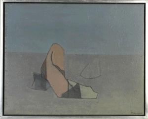 Adrien de Menasce (Egypt/UK, 1925-1995) Pilgrim, 1971
