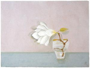 Frances Richards (UK, 1903-1985) White Magnolia, 1971