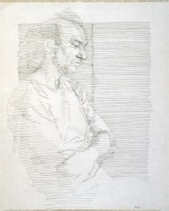 William Augustus Berry (US, 1933-2010) Portrait of Alberto de Lacerda, c. 1970