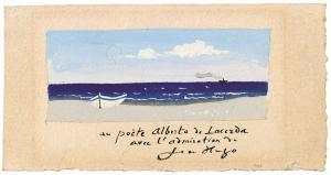 Jean Hugo (France, 1894-1984) Paysage maritime