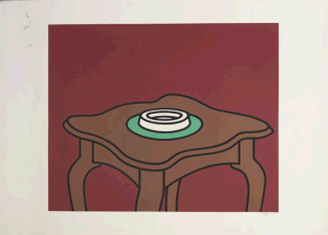Patrick Caulfield (UK, 1936-2005) Occasional Table, 1972
