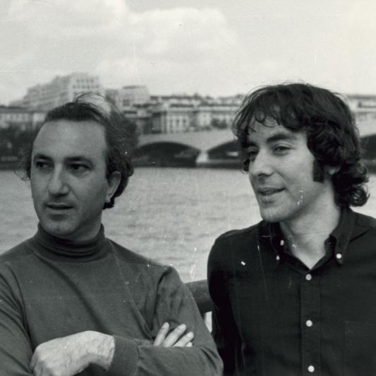 With Ruben Garcia, London