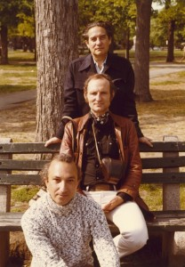 With Octavio Paz and Nathaniel Tarn, Cambridge, Massachusetts, 1972