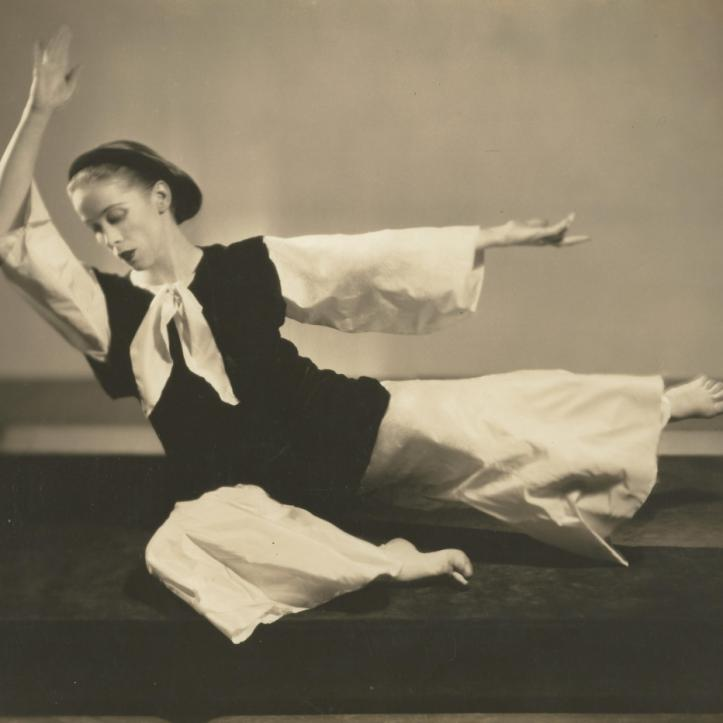 "Martha Graham in ""Transitions"", 1934"