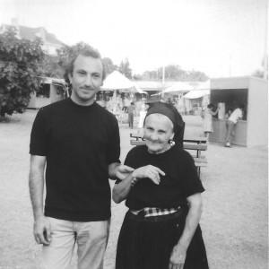With Rosa Ramalho, Portugal