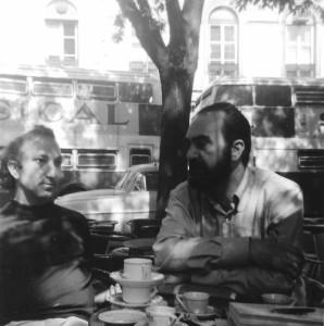 With Herberto Helder, Lisbon