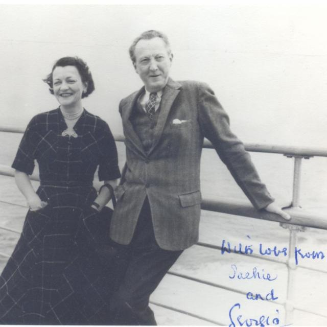 Sacheverell and Georgia Sitwell