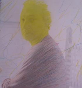 Jorge Martins (Portugal, 1940) Portrait of Alberto de Lacerda, 1983