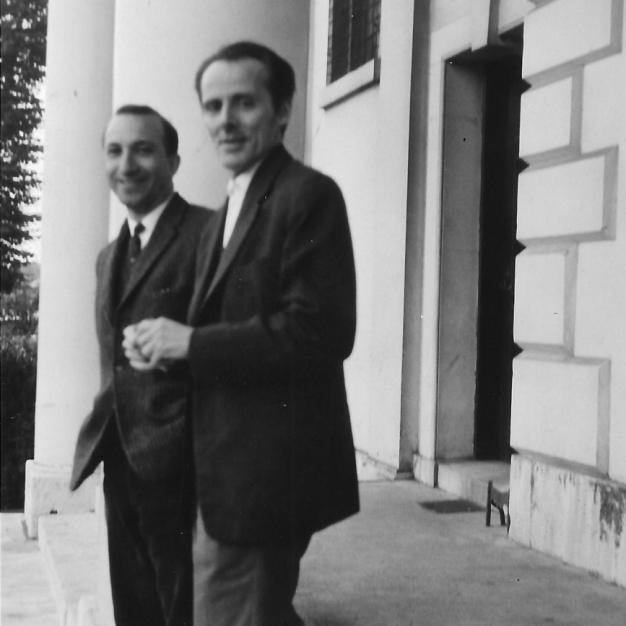 With Mário Cesariny, London, 1964
