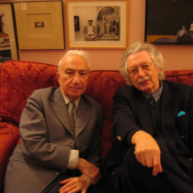 With Luís Amorim de Sousa, Cascais, 2005