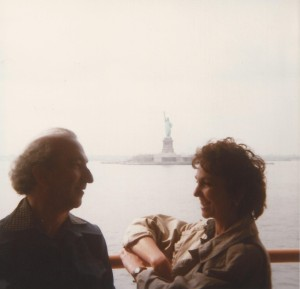 With Paula Rego, NYC, 1983
