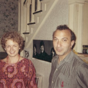 With Harriett Watts, Austin, c. 1968