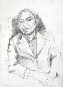 Paula Rego (Portugal, 1935) Portrait of Alberto de Lacerda, 1997