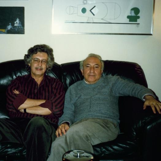 With Luís Amorim de Sousa, Washington DC, 1990