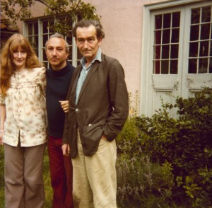 With Anne Beresford and Michael Hamburger, Suffolk, England, 1978