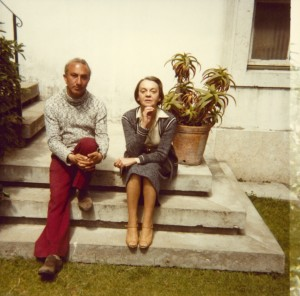With Sophia de Mello Breyner Andresen, Lisbon, 1978