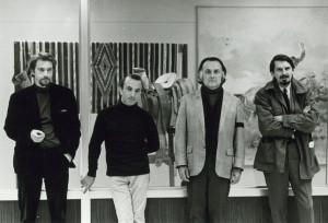 With David Wevill, Robert Duncan and Robert Creeley, International Poetry Festival, Austin, 1969