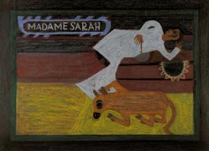 Eddie Arning (US, 1898-1983) Madame Sara
