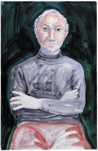Rory McEwen (UK, 1932-1982) Portrait of Alberto de Lacerda, 1978