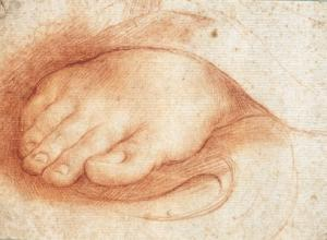 Cesare Dandini (attributed, Italy, 1596-1657) Drawing of a foot, 17th Century